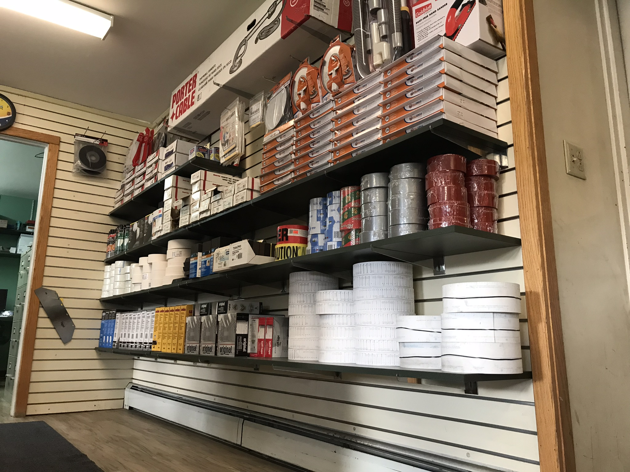 Sanding Accessories, Duct Tape
