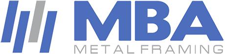 MBA Metal Framing Logo
